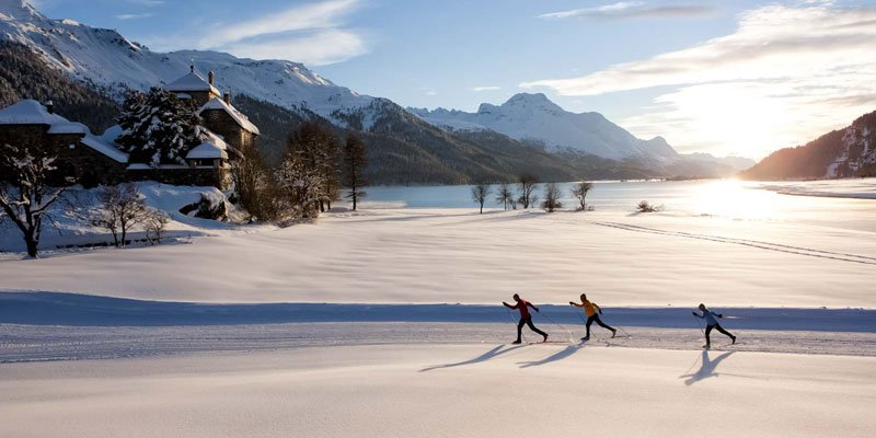 Cross-Country Skiing Paradise Engadin