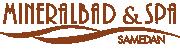 Logo Mineralbad Samedan